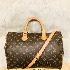Authentic Louis Vuitton Speedy 35 #2.2yja
